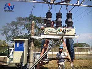 ANSI / IEEE C37.60 réenclencheur automatique standard au Venezuela