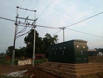 La sous station de Rockwill a été achevée au Congo et fonctionne bien