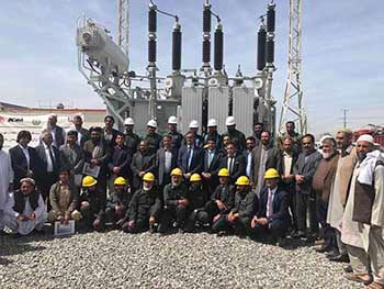 Sous-station 110kV achevée en Afghanistan