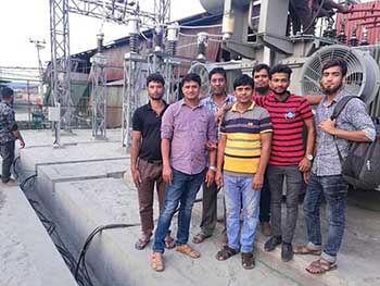 Le projet clé en main au Bangladesh est achevé avec succès